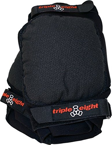 Triple 8 Second Skin Knee Pads (Black, Medium)