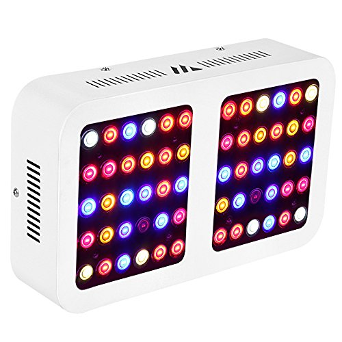 MORSEN Reflector-Series 600W LED Grow Light Full Spectrum for Indoor Plants with VEG and Bloom Switch by Morsen