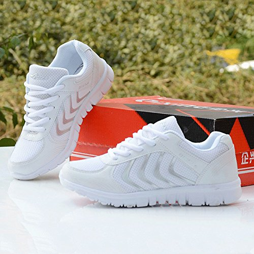 41cdd7c45e88b Fashion Brand Best Show Women s Athletic Mesh Breathable Sneakers Running  Sports Shoes Blue