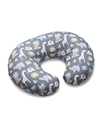 Boppy Nursing Pillow and Positioner, Sketch Slate Gray BOBEBE Online Baby Store From New York to Miami and Los Angeles