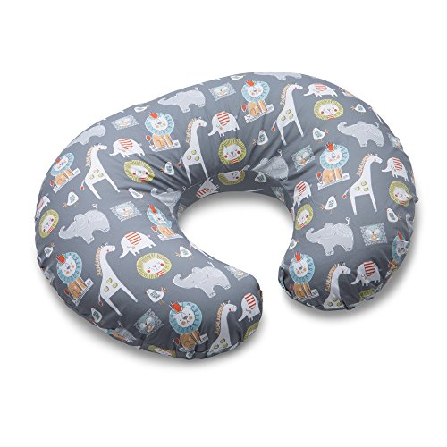 Boppy Nursing Pillow and Positioner, Sketch Slate Gray from Boppy