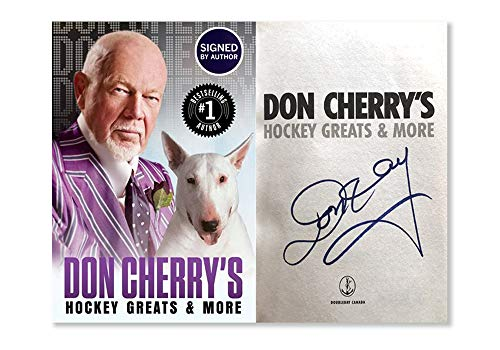 (Don Cherry's Hockey Greats And More SIGNED By Author)