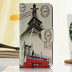 SHOUJIKE Fashion British Style Painted PU Full Body Case with Stand And Card Slot for iPhone 6