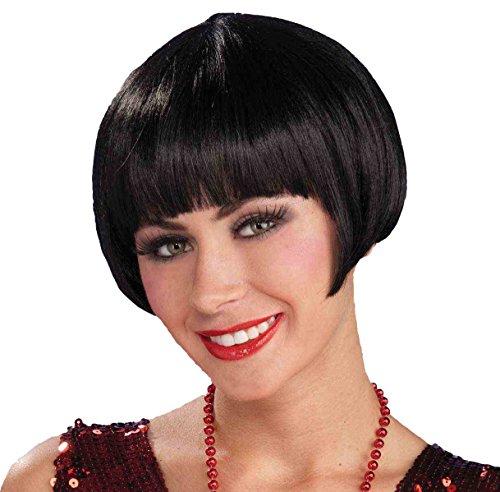 Forum Novelties Flapper Charleston Chic Wig, Black