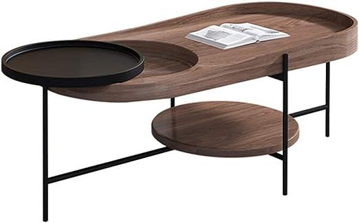 Mesa de salón con estructura de metal For estar Comedor moderno de ...