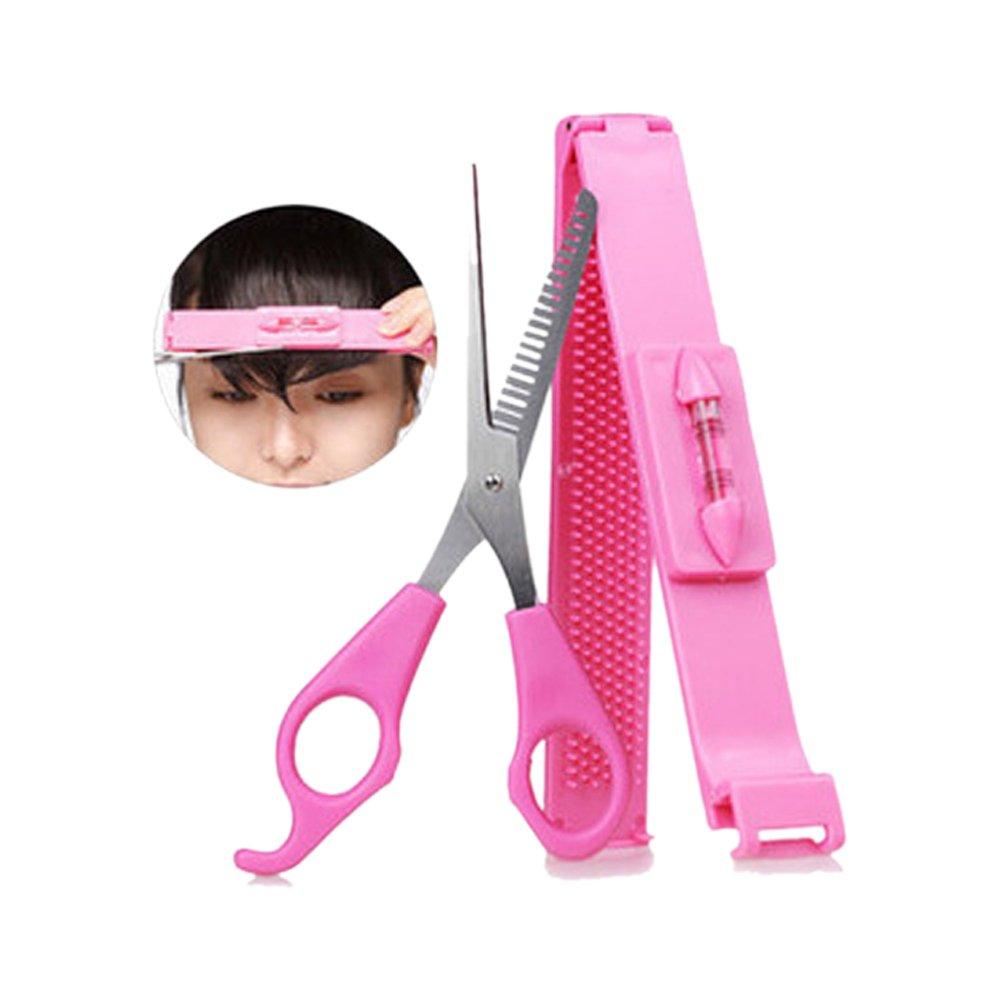 Cut Bangs Artifact Neat Bangs Clip DIY Hairdressing Tools Hair Thinning Scissors Cutters
