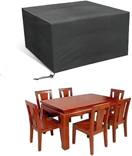 JIMS STORE Funda para Muebles de Jardín, Impermeable Funda para Mesa Mobiliario de Exterior (Size: 213 x 132 x 74 cm): Amazon.es: Jardín