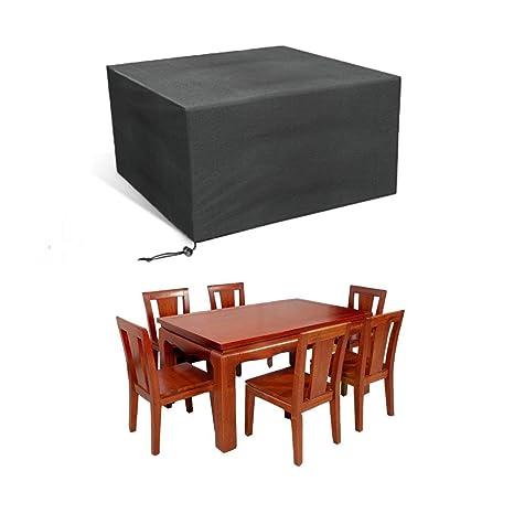 Coperture Per Tavoli Da Giardino.Jim S Store Copertura Per Tavolo Da Esterno Rettangolare Impermeabile Copertura Per Mobili Da Giardino