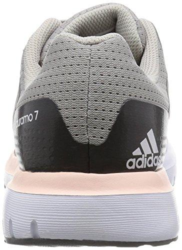 Buy Adidas Women's Duramo 7 W Grey and Blue Mesh Running ...