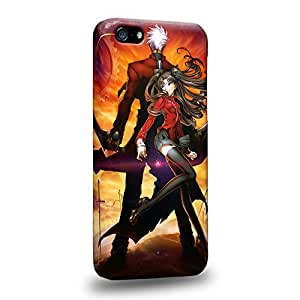 Diy iPhone 6 plus The most popular Fate Stay Night Rin T?saka and Archer Protective Snap-on Hard Back Case Cover for Apple iPhone 6 plus