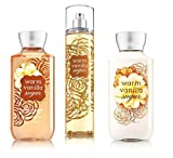 Cheap Bath & Body Works ~ Signature Collection ~ Warm Vanilla Sugar ~ Shower Gel ~ Fine Fragrance Mist & Body Lotion ~ Trio Gift Set