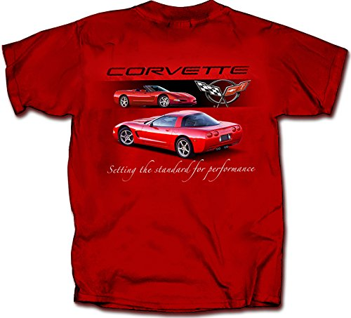 Chevrolet 1997 to 2004 Corvette C5 - Men's T-Shirt by Joe Blow Tee's 100% Cotton