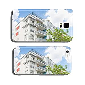 House in Germany - modern office building and trees cell phone cover case Samsung S5