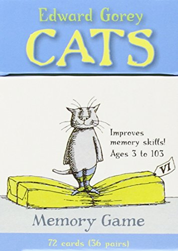Cats: Memory Game Edward Gorey Cats
