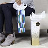 Hallmark Wine Bottle Gift Bags, Cheers and