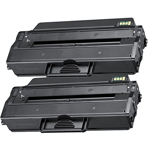2 Inktoneram® Replacement toner cartridges for Samsung D103L replacement for Samsung MLT-D103L Toner Cartridge ML-2955ND ML-2955DW SCX-4728FD SCX-4728FD/GOV SCX-4729FW SCX-4729FD ML-2951ND ML-2951D/GOV ML-2950D ML-2950ND ML-2950ND/GOV