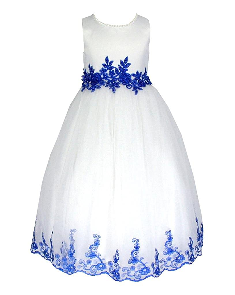 61052f59638f go2victoria New Satin Party Bridesmaids/Flower Girl Dress 6 Months to 12  Years