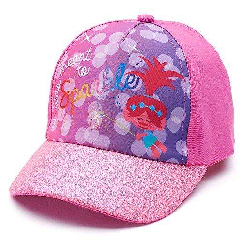 DreamWorks Trolls Poppy Glitter Baseball Cap Hat