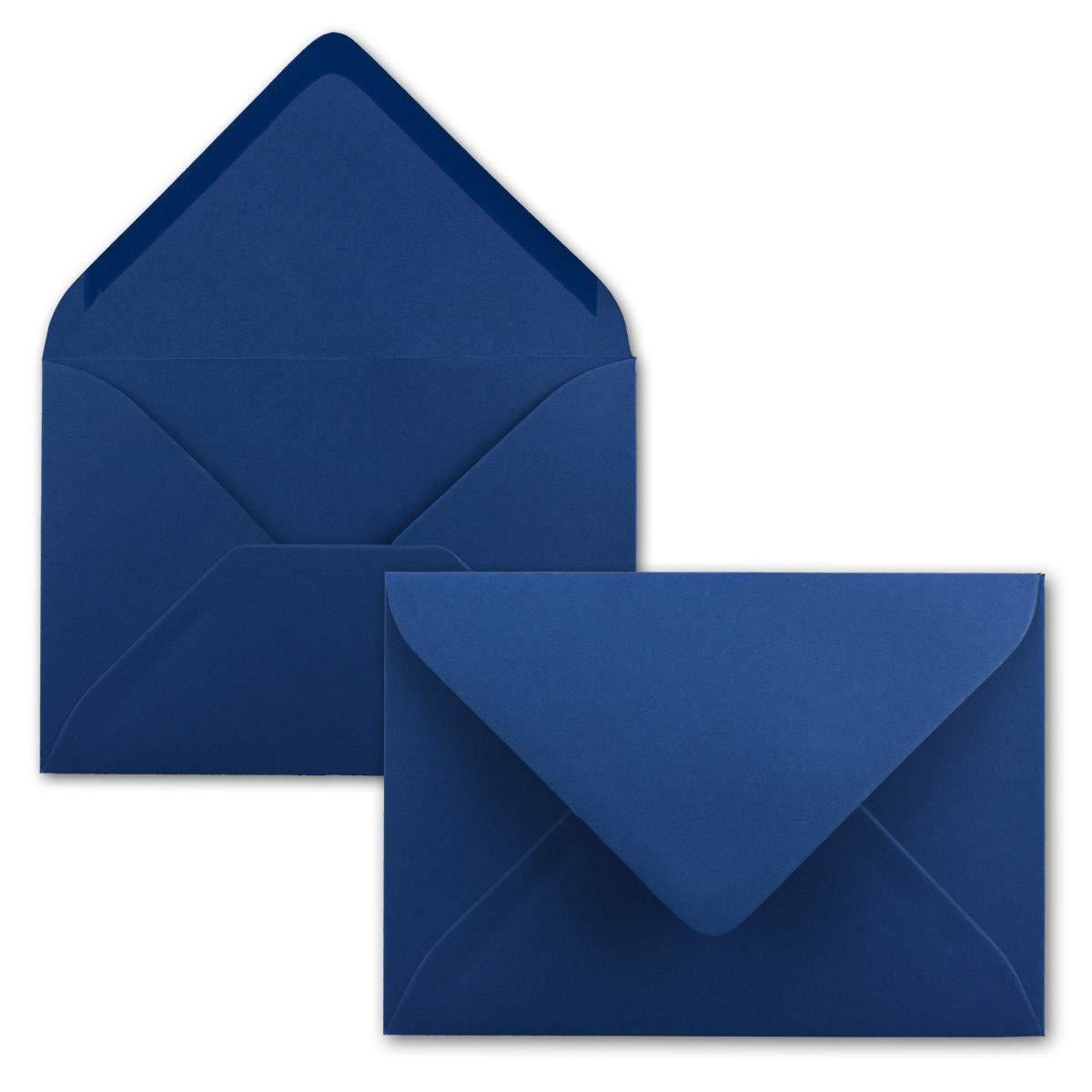 500 Mini Brief-Umschläge - Hell-Blau - 5,2 x 7,6 cm - Miniatur KuGrüns mit Nassklebung für Blaumen-Grüße, Grußkarten, Anhänger & Geld-Geschenke - Gustav Neuser® B07PZVNH54 | Verkaufspreis