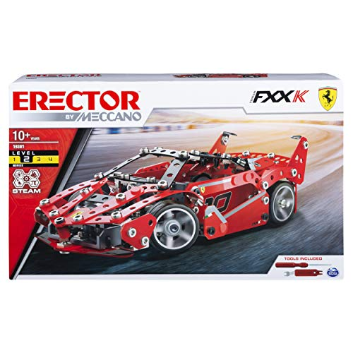 Meccano Erector, Ferrari FXX-K, S.T.E.A.M. Model Building Kit, for Ages 10 and Up from Meccano
