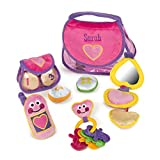 Melissa & Doug Personalized Pretty Purse Fill & Spill Soft Play Set Toddler Toy