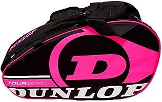 Dunlop Paletero de pádel Tour Intro Negro/Rosa Flúor: Amazon.es ...