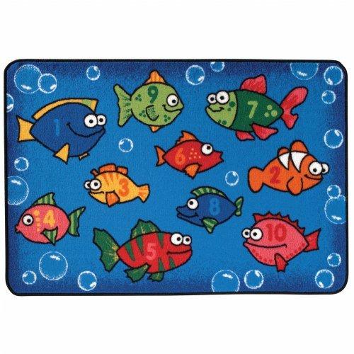Something Fishy KID$ Value Rug - 4' x 6'