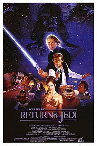 Laminated Star Wars Poster
