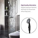 Shower Flow Control Valve, Aomasi Brass Water