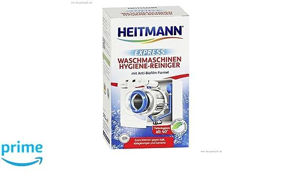 Heitmann Express - Limpiador de lavadoras (250 g): Amazon.es ...