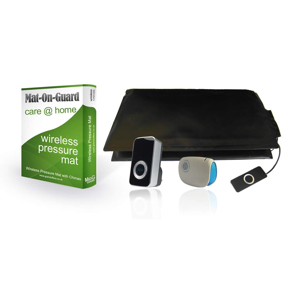 Mat-On-Guard IP-300s  Dementia Health Care and wandering pressure pad carer  alarm (Sensor mat for the elderly and Alzheimer's)