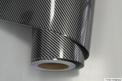 Könighaus 2d Carbon Negro Pantalla 400x 152cm burbujas con instrucciones (Auto Pantalla)