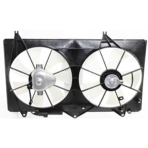 Radiator Fan Assembly Compatible with Toyota Camry 02-06 Toyota Solara 02-08 4cyl