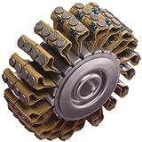 3M Heavy Duty Roto Peen Flap Assembly, 2-1/8'' Length x 2'' Width (Pack of 10)