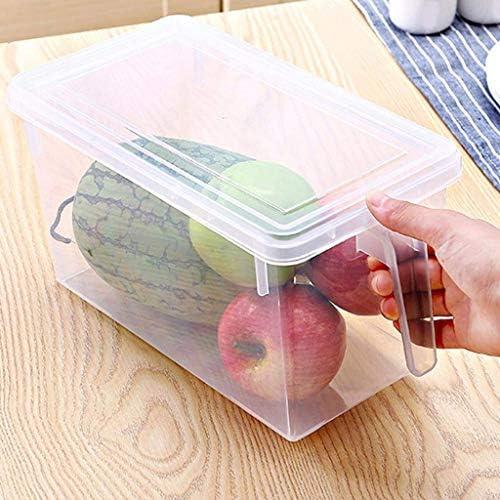 NA Aufbewahrungsbehälter, tragbares Kühlschrank Kühlschrank Sealed Lebensmittel Obst Leicht Aufbewahrungsbehälter Organisator-Behälter Frischhalten Küchenversorgung