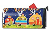 MailWraps Fall Camping MailWrap Mailbox Cover 00104
