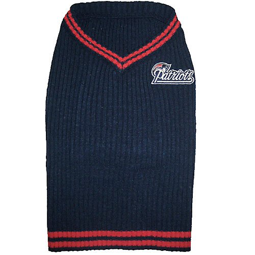 International Costume Of England (Pets First NEP-40124 New England Patriots Dog Sweater Large)