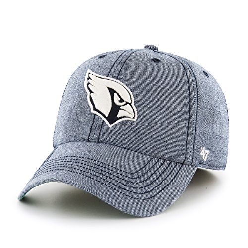 NFL Arizona Cardinals Colfax Franchise Fitted Hat, Large, Undertow