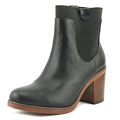 Toe Black Casual Polyurethane Elastic Madalena Closed Ankle Boots Kensie Womens 0wtqIaSx