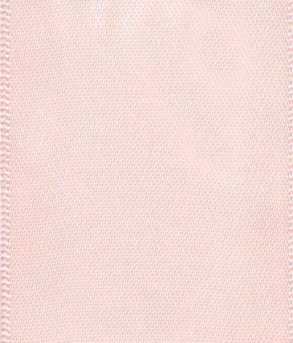Entertaining with Caspari Solid Decorative Ribbon, Light Pink
