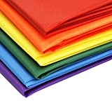 EMMAKITES Ripstop Nylon Fabric 40 Denir 60''Wide x36'' Length 12pcs of 12 colors Pack