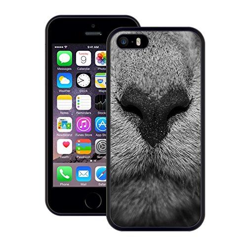 Tier Snout | Handgefertigt | iPhone 5 5s SE | Schwarze Hülle