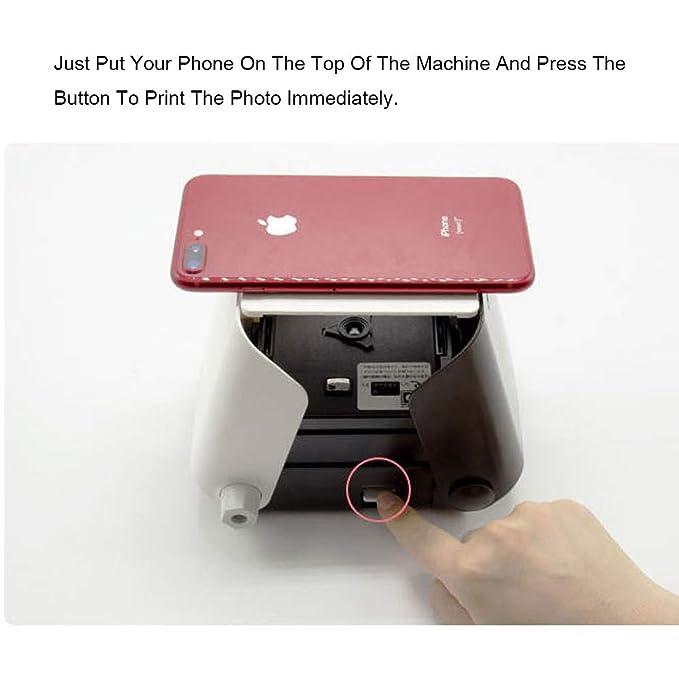 ZP-Printer Impresora Fotográfica Portátil | Impresora ...