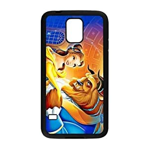 Customize Famous Cartoon the Beauty and the Beast Back Cover Case for Samsung Galaxy S5