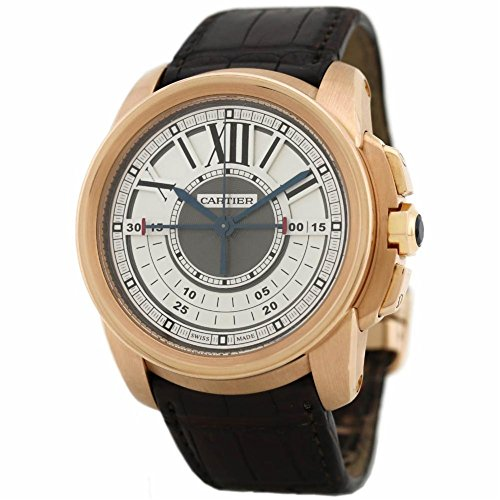 Cartier Calibre de Cartier Swiss-Automatic Male Watch W7100004 (Certified Pre-Owned)