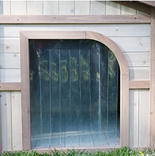 Extra Large Solid Wood Dog Houses – Suits Two Dogs Or 1 Large Breeds. This Spacious Large Dog Kennel Has Two Doors And Can Be Partitioned For Two Dogs. Large Outdoor Dog Bed Has A Raised Bottom and Natural Insulation. Your Perfect Large Dog Bed.