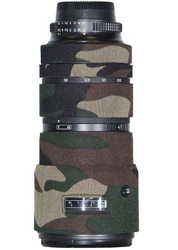 LensCoat LCN80200FG Nikon 80-200 f/2.8 ED AF-D Lens Cover (Forest Green Camo)