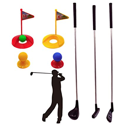 GSC-toys Juguete de Golf Palos de Golf de plástico Juegos de ...