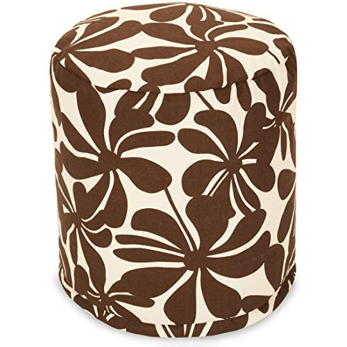 - Majestic Home Goods Chocolate Plantation Indoor/Outdoor Bean Bag Ottoman Pouf 16