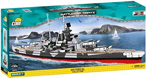 (COBI Historical Collection Battleship Tirpitz)